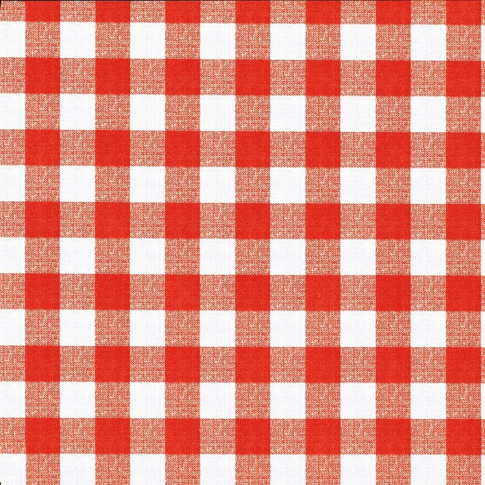 Red White Check Tablecloth 138 X 180 Large Size Ebay