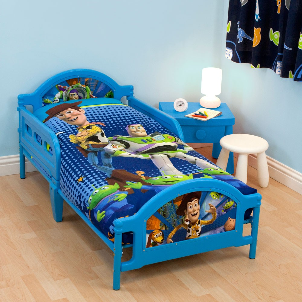 CHARACTER & GENERIC DESIGN JUNIOR TODDLER BEDS WITH ...