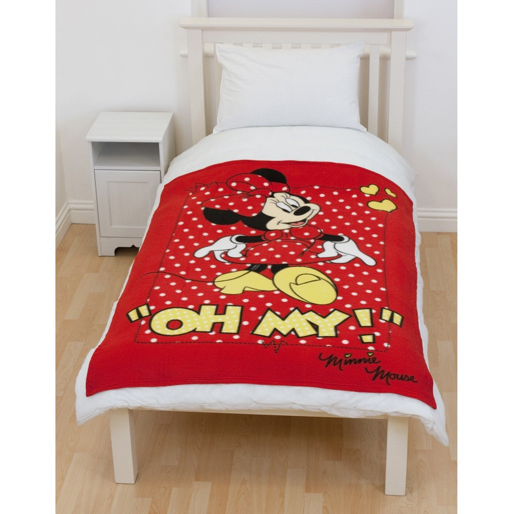 Disney Minnie Mouse Bedding & Bedroom Accessories (Free P