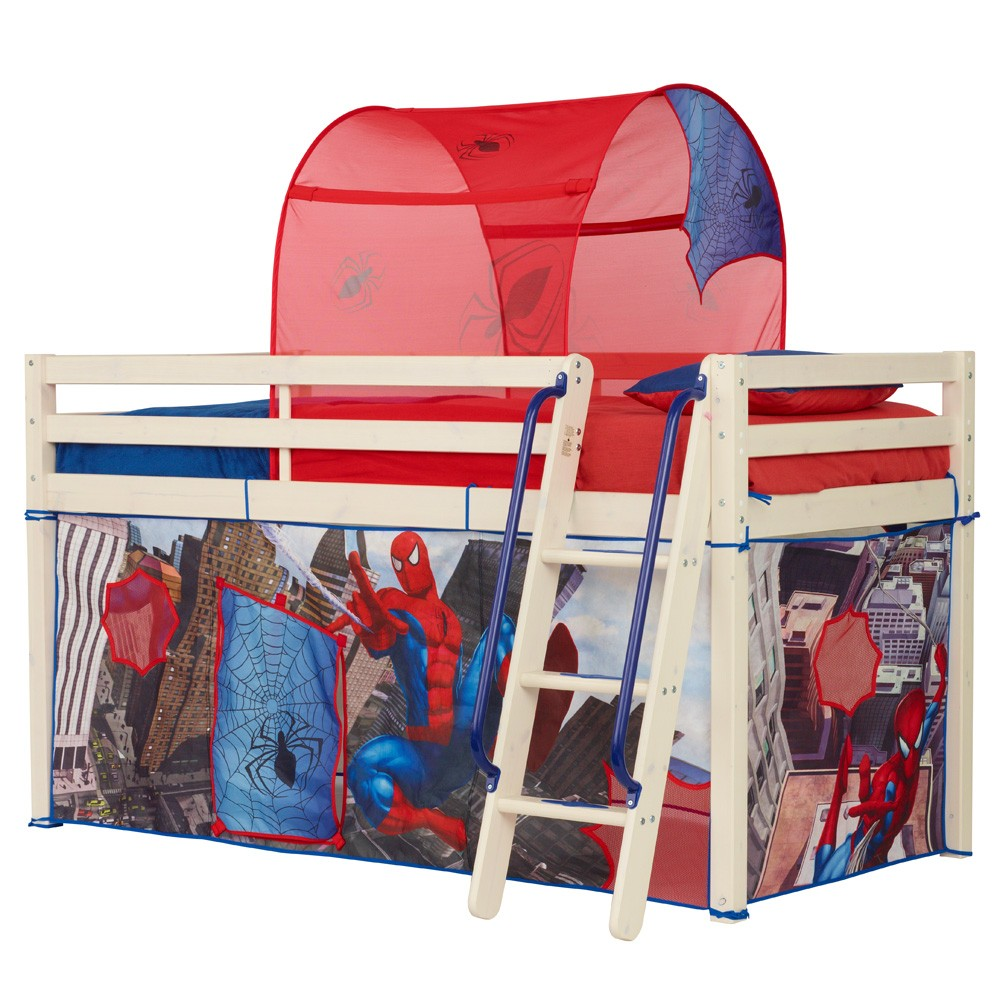 Spiderman Mid Sleeper Bed Tent New Boxed Spider Man Ebay