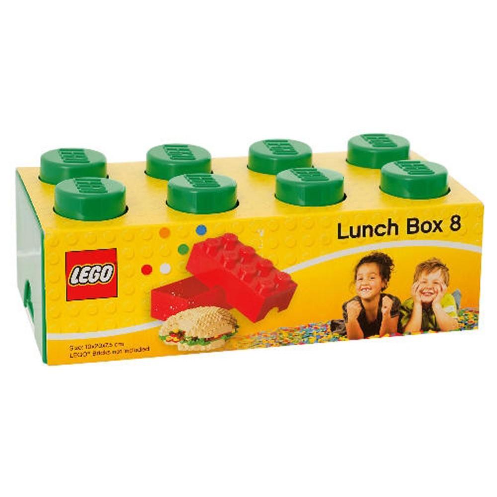 LEGO LUNCH BOX / STORAGE BRICK NEW - GREEN | eBay