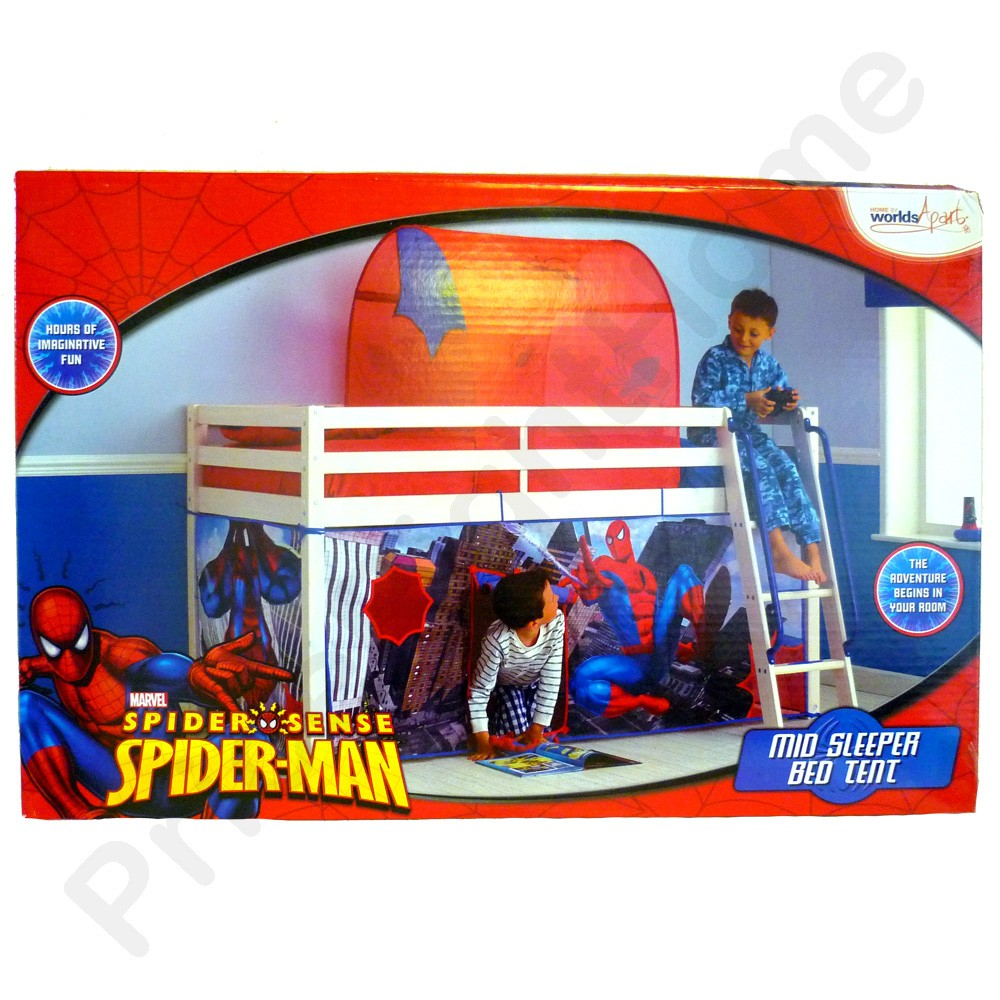 Spiderman Mid Sleeper Bed Tent New Free P P Spider Man
