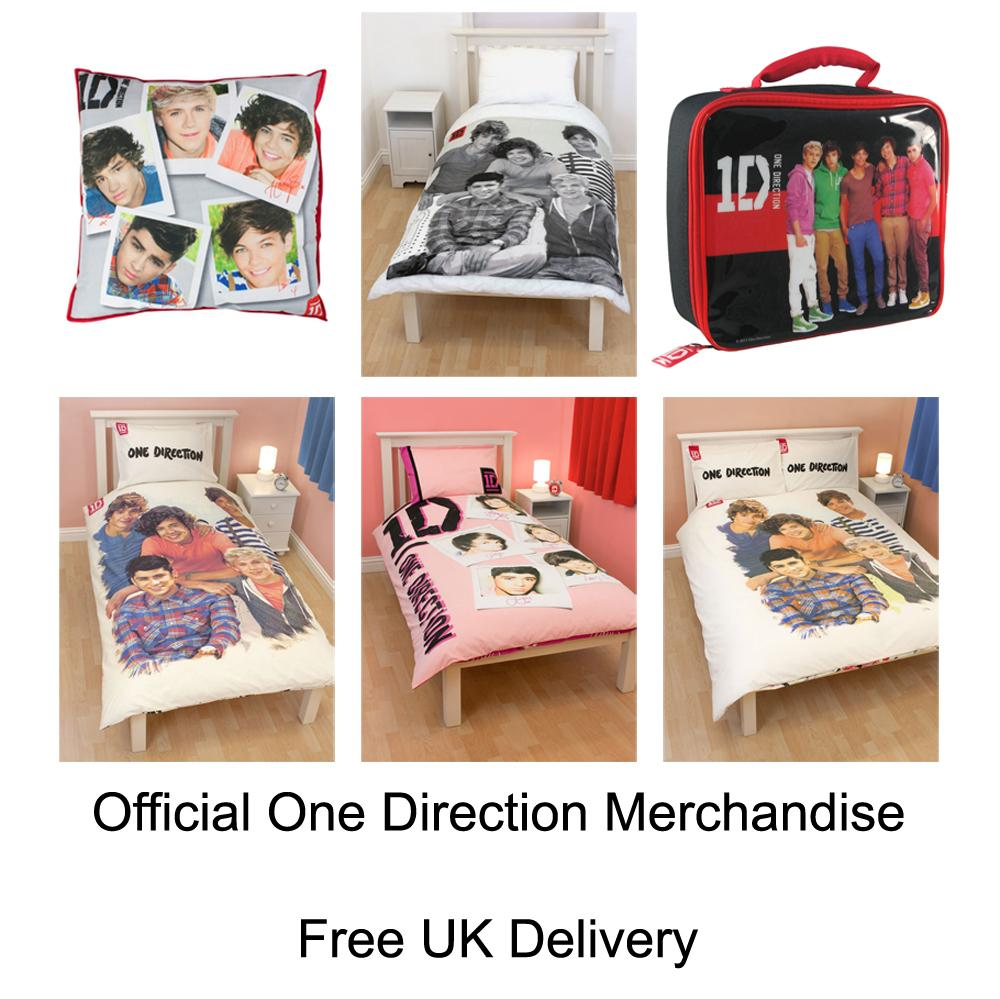 ONE DIRECTION DUVET COVERS & BEDROOM ACCESSORIES
