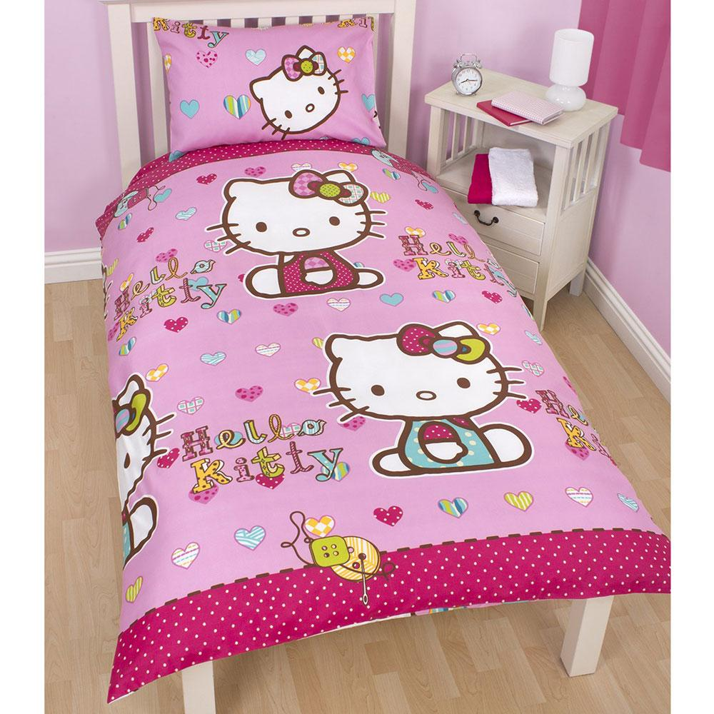 HELLO KITTY BEDROOM ACCESSORIES BEDDING FURNITURE & MORE