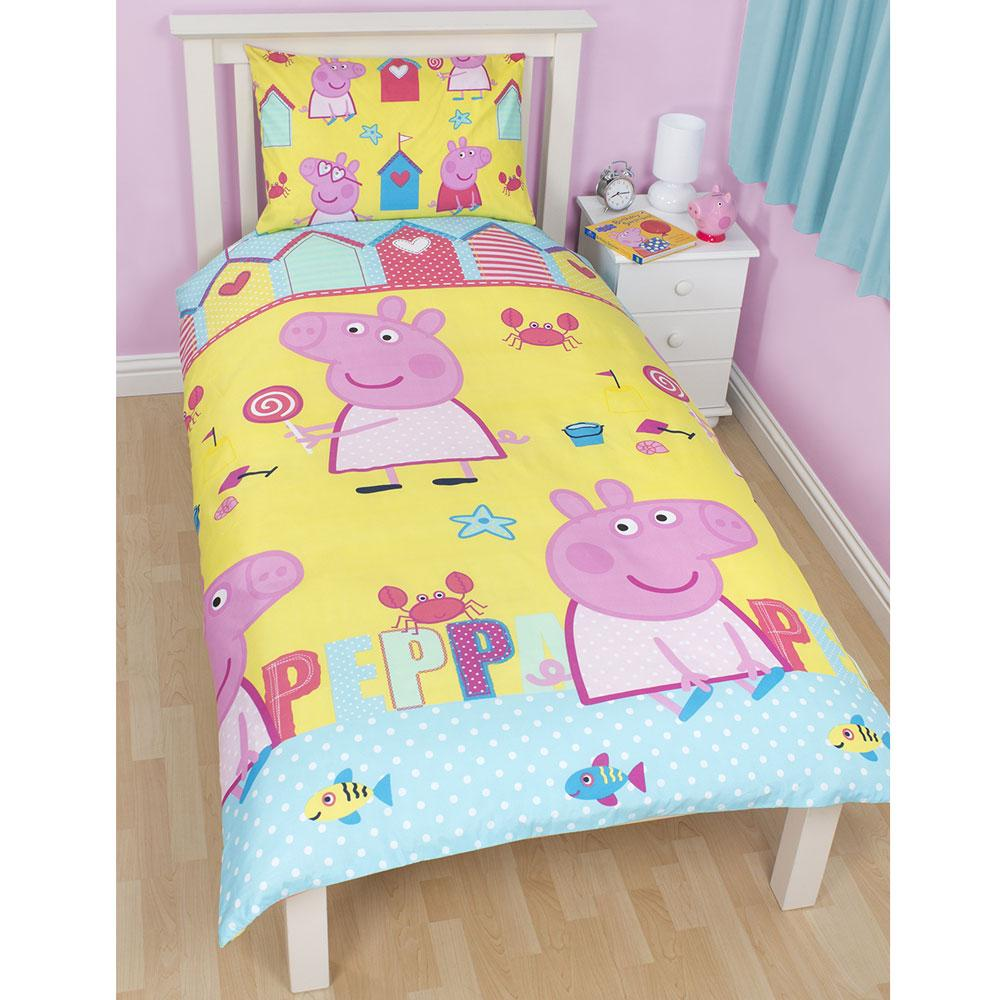 peppa pig bedroom peppa pig bedding amp bedroom decor duvets wall stickers 12817