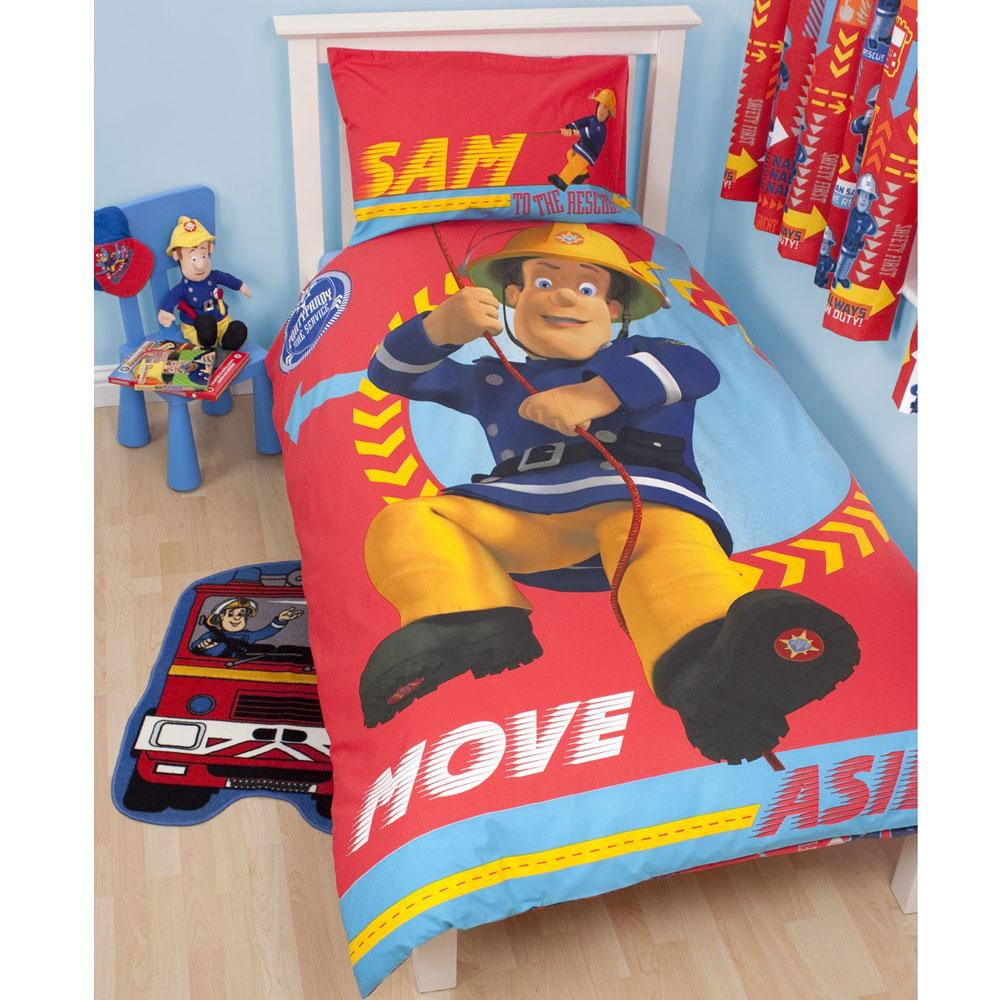 Fireman Sam Bedroom Wall Decals Stickers Mince His Words