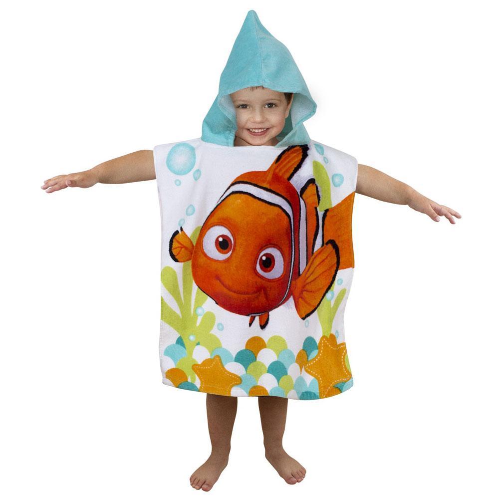 Finding Nemo Bath Towel Set: DISNEY FINDING NEMO PONCHO TOWEL NEW BEACH BATH OFFICIAL