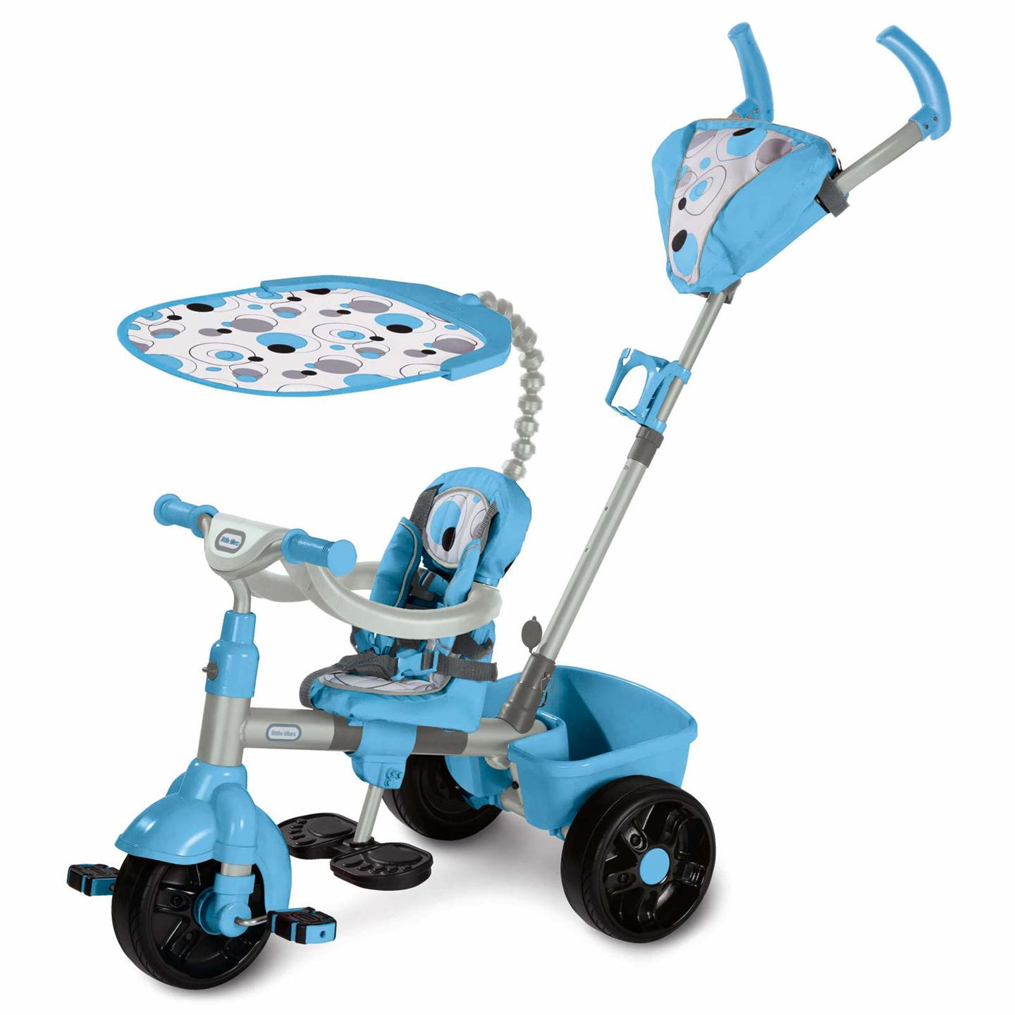 4 in 1 sports edition smart trike new little tikes blue. Black Bedroom Furniture Sets. Home Design Ideas