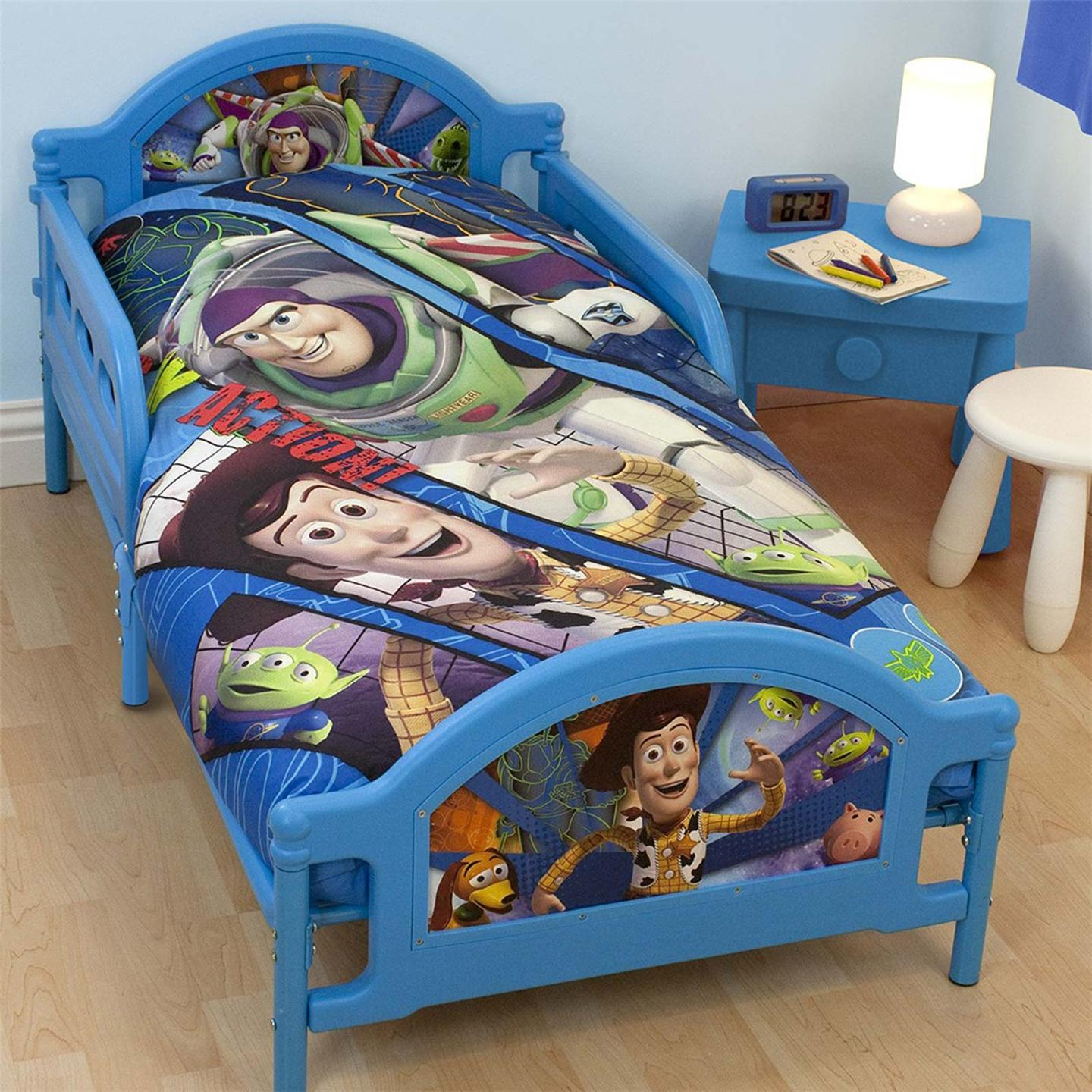 Toy Story Fractal Junior Toddler Bed New Buzz Lightyear