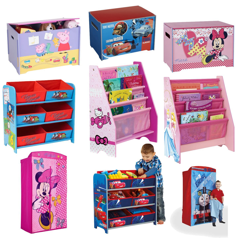 kinder disney m belst cke kinderzimmer spielzimmer ordnung aufbewahrung m bel ebay. Black Bedroom Furniture Sets. Home Design Ideas
