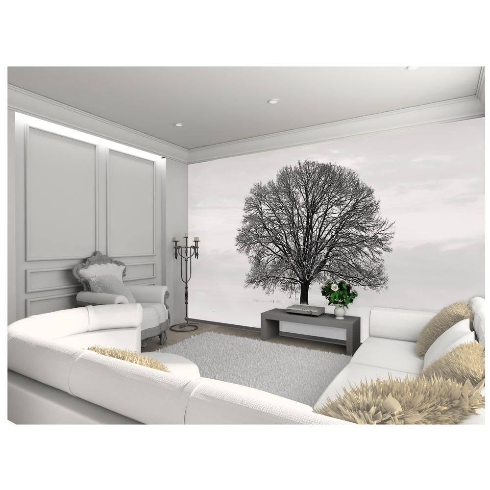 Large wallpaper feature wall murals landscapes - Feature wall wallpaper living room ...