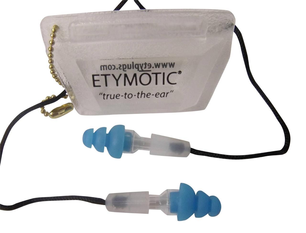musicians earplugs etymotic research er20 smb c hi fi standard fit reusable blue ebay. Black Bedroom Furniture Sets. Home Design Ideas