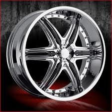 20 inch VCT Mobster chrome wheels Rims 6x135 +30