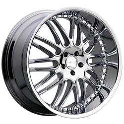 22 inch Menzari Z10 Chrome Wheels Rims 5x112 35 Mercedes CLS550 E350