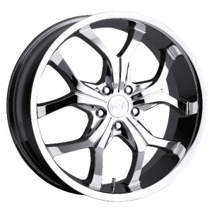 19 inch VCT Castellano Chrome Wheel Rim 5x112 Audi A3 A4 A5 A6 A8