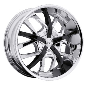 20 inch VCT Romano Chrome Wheel Rim 5x115 300C Challenger Charger