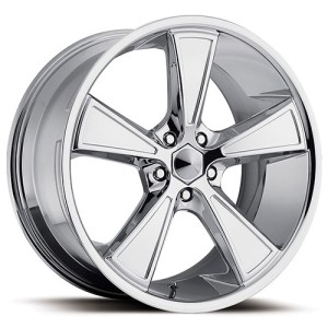 20 inch 20x9 Ultra Hustler Chrome Wheel Rim 5x120 Range Rover LS460 LS
