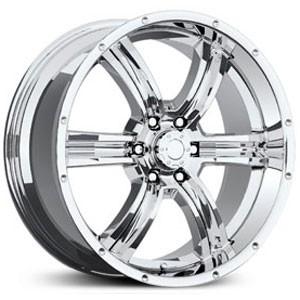 20 inch 20x8 5 Eagle 070 PVD Chrome Wheel Rim 6x135 F150 Expedition
