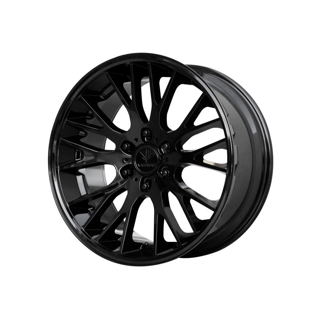24 Inch 24x10 Verde Duo Gloss Black Wheel Rim 5x112 35 Ebay