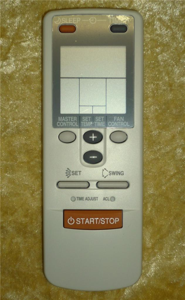 Original Fujitsu Air Conditioner Remote Control Substitute