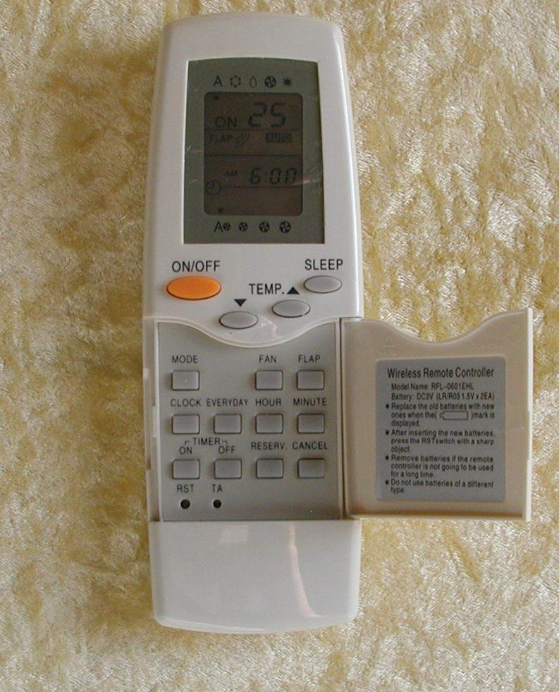 How to set up on and off timer with Carrier AC remote ...