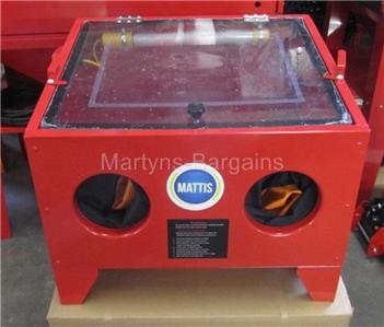 Bench Sand Blasting Cabinet Sbc90 Sand Blast Red Sand