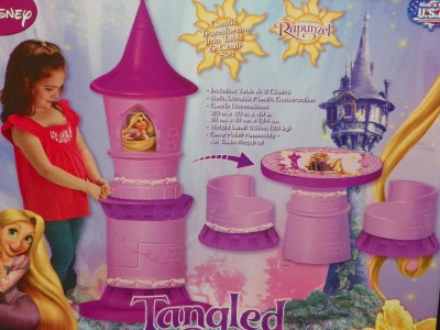 Disney Princess Tangled Rapunzel Transforming Tower Castle