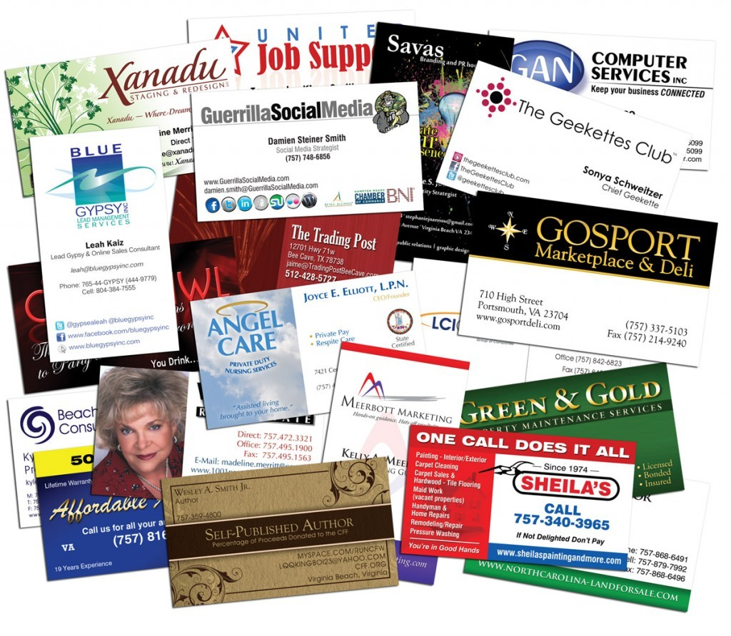 250 Full Color Gloss Custom Business Cards - Plus FREE Shipping ...
