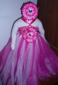 Baby/Toddler Girl Long Tutu Dress for birthday/wedding