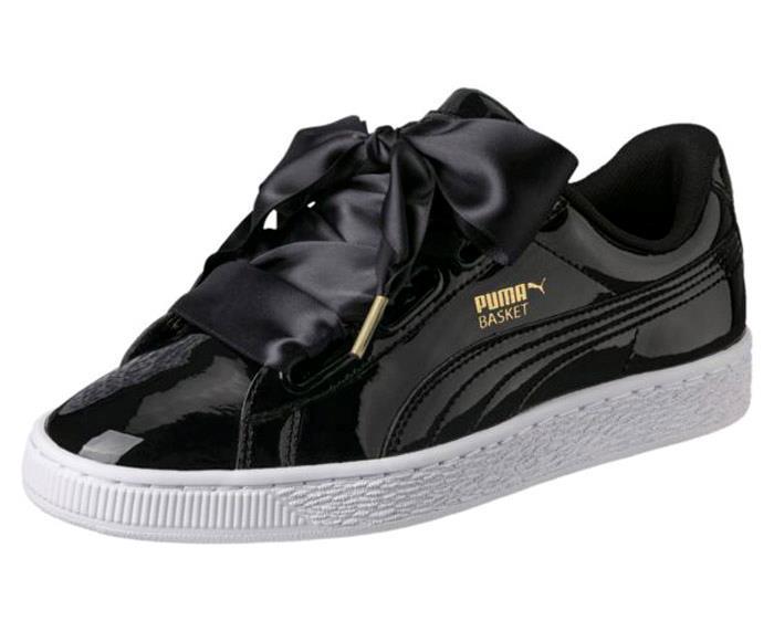 1806 Puma Cesta corazón patente para Mujer Zapatos Deportivos Deportivos Deportivos Tenis 363073-01 7b0b0e