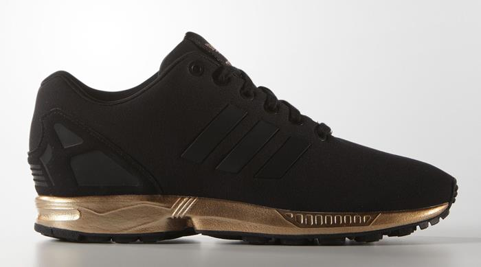 designer fashion 87194 2ee95 ... gold metallic b35319 sneaker shoes ef170 b6187  netherlands adidas zx  flux black copper metallic adb66 0c596