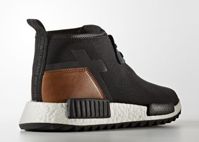 the latest 4677a 0814a adidas NMD C1 TR shoes black brown white Stylefile