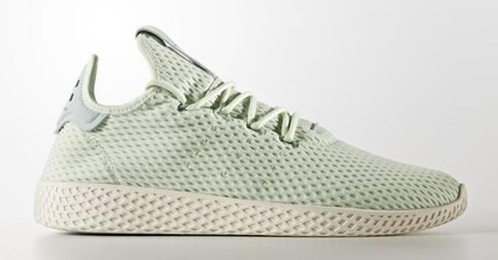 AUTHENTIC adidas Originals Pharrel Williams Tennis Green Linen CP9765   Men sz