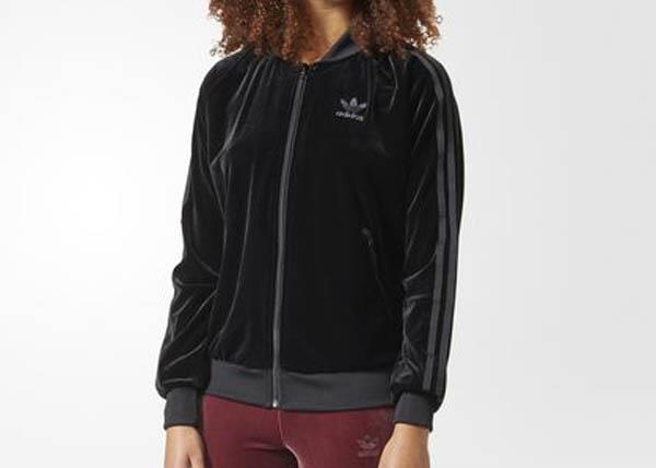 02e7212bf8 1709 adidas Originals Velvet Vibes SST Women s Track Jacket CW0272