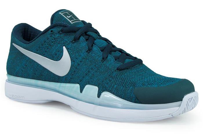 1710 Nike Zoom Vapor Flyknit Men's Tennis Shoes 885725-300