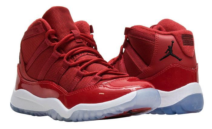 1712 Nike Air Jordan 11 Retro Men's Basketball Shoes 378037-623