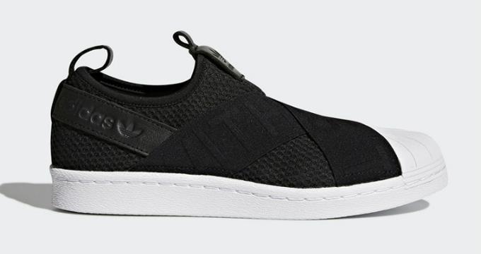 new styles c3c4c 25db8 ... 2018 adidas Originals Superstar Slip on on on Mujer sneakers zapatos  deportivos cq2382 nuevos zapatos para. Adidas hombres negro ...
