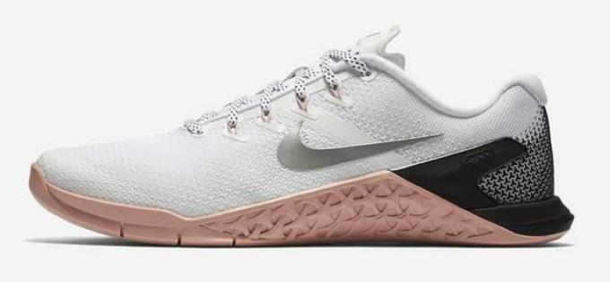 1801 Nike 4 Metcon 4 Nike Zapato de levantamiento de pesas Entrenamiento Para Mujer 924593-100 956061