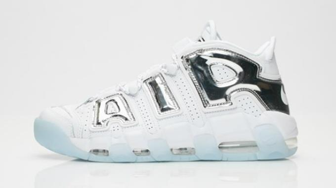 1801 Nike Air More Uptempo Women's Sneakers Sports Shoes 917593-100