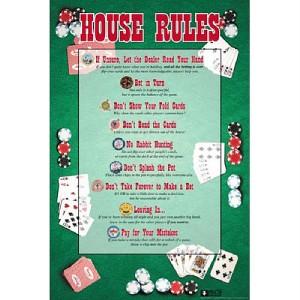 Poker Rules Printable