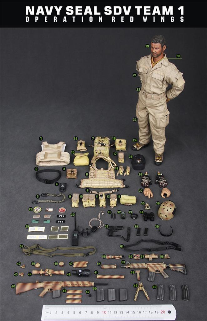 Dam Toys Elite 78008 Navy Seal Sdv Team 1 Operation Red