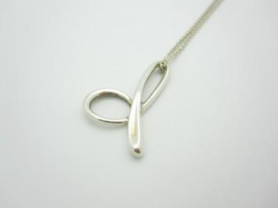 Tiffany & Co. Elsa Peretti LARGE Initial Alphabet Letter D Pendant ...