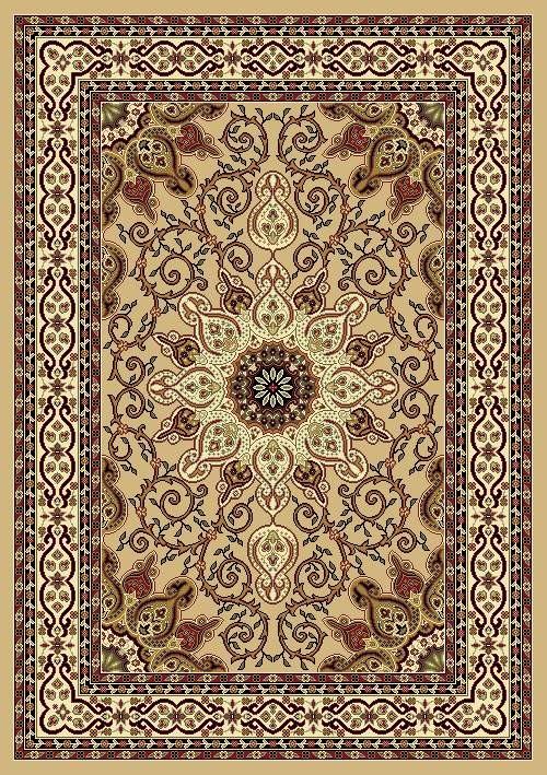 Burgundy Oriental Beige Black Traditional Area Rug Carpet