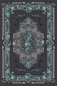 Burgundy Green Victorian Area Rug Carpet Traditional Black