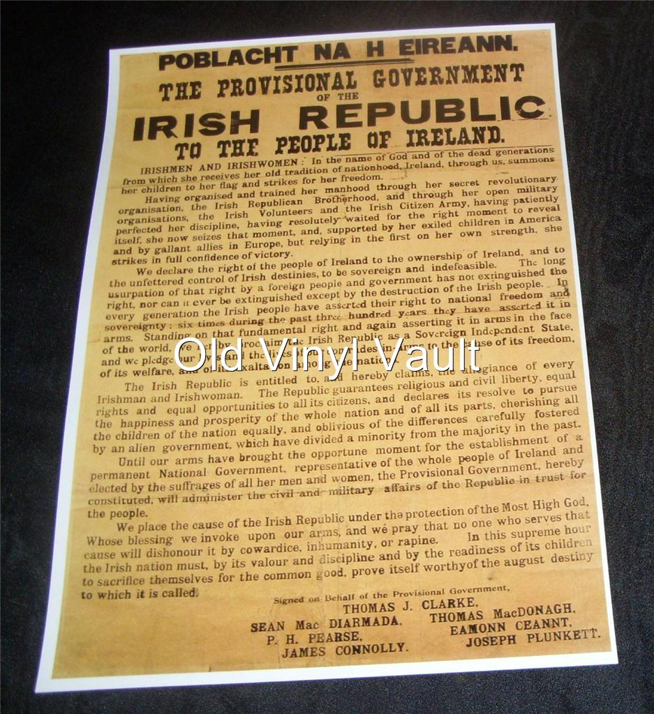 Celebrate the Declaration of Independence and its Irish signatories on its 242nd anniversary