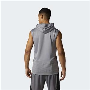 25dabdc0a2e27 Mens Adidas Shooter Sleeveless Vest Hooded Tank Top Training Running ...