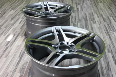 19 AMG Style Staggered Wheels Rim 5x112 Mercedes Benz C CL CLK CL E s SLK SL