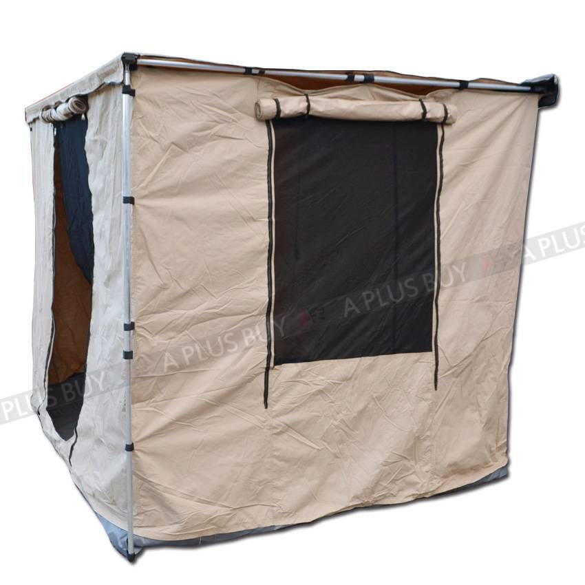 New 2 5x3m Mountable Tent Room House For Car Side Awning