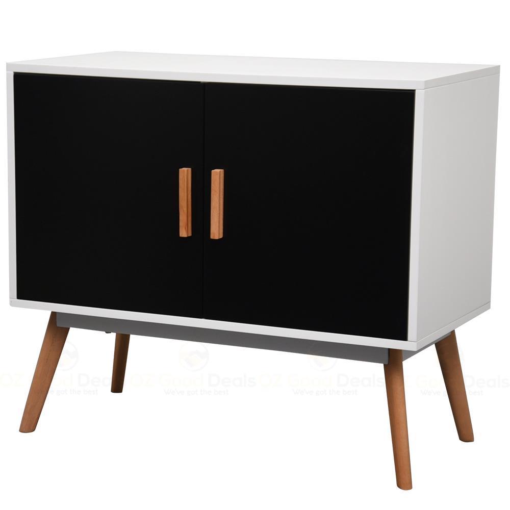 New 80CM Scandinavian Retro SideBoard Buffet Drawer Cabinet Matt ...