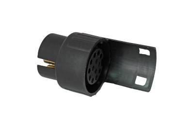 anh nger steckdose adapter anschlu kupplung 7 polig auf 13 polig 12v 904 ebay. Black Bedroom Furniture Sets. Home Design Ideas